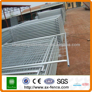 Powder Coated Cheap Temporary Fence Removable Fence
