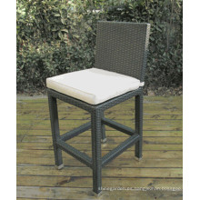 Taburete de la silla de jardín de mimbre de la rota al aire libre barra muebles de Patio