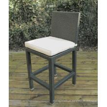 Tamborete de cadeira de Bar de mobília do pátio ao ar livre do rattan vime jardim
