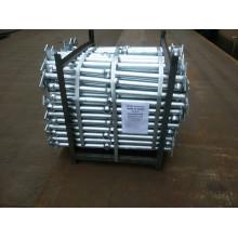 Hot DIP galvanizado acero pasamanos para escalera