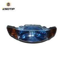 SCL-2012110327 Lampe frontale de phare pour pièces détachées moto 50cc