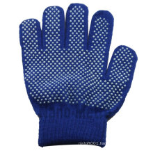 NMSAFETY 10g cotton pvc rubber dot gloves