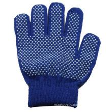 NMSAFETY 10г хлопок резина ПВХ точка перчатки