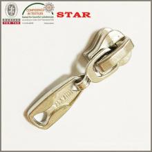 Pull à fermeture éclair en métal personnalisé pour fermeture à glissière haute qualité