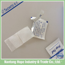 Almohadilla de preparación de alcohol no tejido de 65 mm x 30 mm