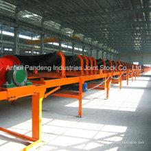 Mine de charbon standard ASTM / DIN / Cema / Sha utilisant un convoyeur à bande fixe