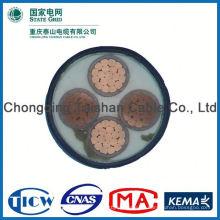 Buena calidad Cable de energía del aislamiento de PVC / XLPE, cable de transmisión de la CC