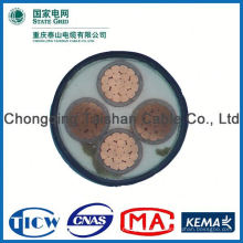 Good Quality PVC/XLPE Insulation Power Cable, dc power cable