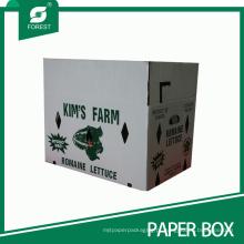 Caixa de embalagem de papelão ondulado para alimentos orgânicos Farm (FP200101)