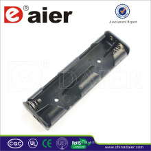 Suporte de bateria Daier 6v 4 aa com suporte de bateria de fio 4 aa