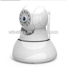 Pan-Tilt 720P Câmera de CCTV Câmera IP de rede de vigilância sem fio rotativa sem fio