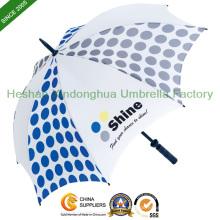 """30"""" automatische Fiberglas winddicht personalisierte Golf Regenschirme (GOL-0030BFA)"""