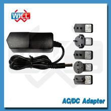 UL FCC CE BS SAA conmutación AC DC 12v 350ma adaptador de corriente