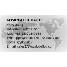 Mainland Neimenggu to Italy Naples