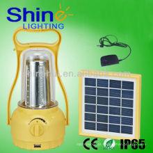 Fonte verde A venda quente conduziu a lanterna acampando luzes solares da lanterna da passagem