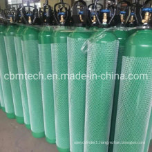 10m3 Cbmtech Steel Oxygen Cylinders with Open Caps