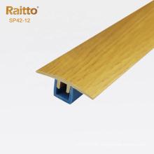 HX Series Plastic T molding Flexible Floor Transition Profile