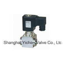 Soupape solénoïde à 2 voies à haute pression de 24V DC (YCGD)