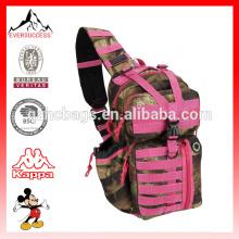 Mens Tactical Gear Trink Bereit Sling Schulter Rucksack Daypack Tasche