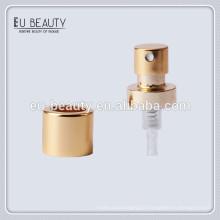 Golden aluminum 15mm 0.09cc perfume spray pump