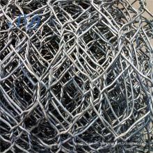 Electro galvanizado malla de alambre hexagonal de 25 mm
