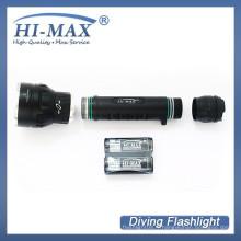 HI-MAX X7 3 * Cree XM-L2 U2 LED 3000 lumen plongée lumière torche à main
