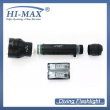HI-MAX X7 3*Cree XM-L2 U2 LED 3000 lumen diving hand torch light