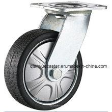 Rueda gruesa de la rueda giratoria de la llama del poliuretano del servicio pesado