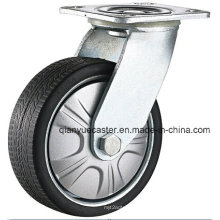 Heavy Duty Gray Polyurethane Flame Swivel Caster Wheel