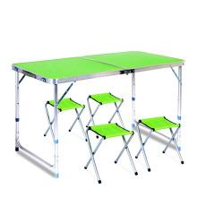 Mesas ajustables del partido de la tabla del metal de la altura baja del precio de la alta calidad