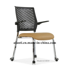 New Design Dining Furniture Leather Metal Dining Chair (633H10)