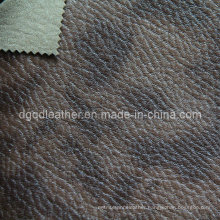 Fashion Design Breathable PU Furniture Leather (QDL-FB0047)