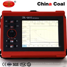 Équipement portatif tenu dans la main de détecteur de faille de Zbl-U610