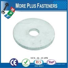 Fabriqué à Taiwan en acier inoxydable Zinc plaqué Dock Washer HDG Dock Washer