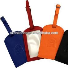 Etiquetas personalizadas de equipaje de cuero