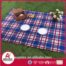 2mm Schaum Polyester wasserdichte Picknickdecke für den Außenbereich