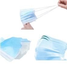 Protección facial desechable médica en suministros médicos
