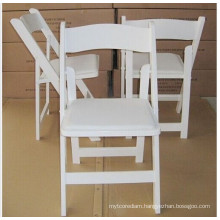 Hot Sale White Wimbledon Chair/Wood Folding Wedding Chair