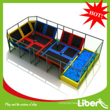 Top sale 14X8x4.5m Size kids indoor trampoline bed for Newzealand Customer