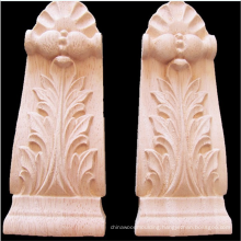 wood carved corbels