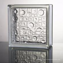 горячая продажа цена по прейскуранту завода 2 дюймов малый кирпичей стеклянного блока