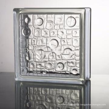 hot sale factory price 2 inch small bricks glass block