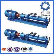 G heavy duty stainless steel screw pump