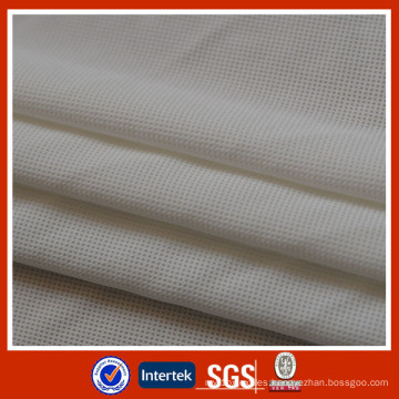 Knit Nylon Fabric with Spandex Mesh Jersey