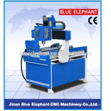 Machine en bois de routeur de gravure de commande numérique par ordinateur de publicité ELE-6090 commande numérique par ordinateur
