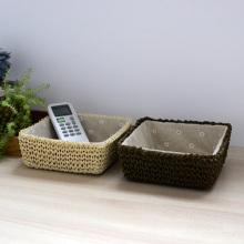 (BC-RB1007) Бумажная веревочная корзина для мини-плетения