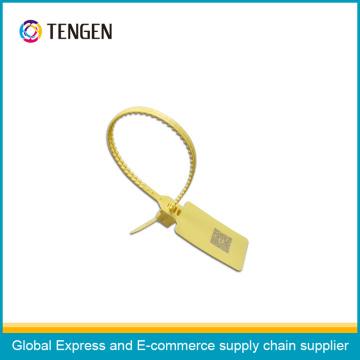 Joint de sécurité en plastique avec logo OEM et type de code à barres 13
