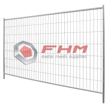 Galvanized Portable Fence Panels for Buildings