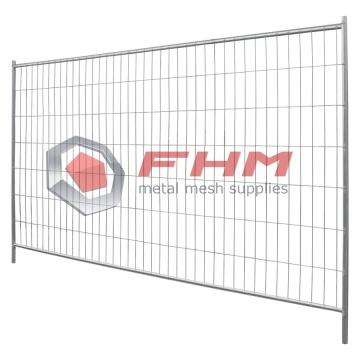 Paneles de vallas portátiles galvanizados para edificios