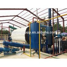Reciclaje de residuos de plástico de recuperación de energía a la máquina de aceite para la venta